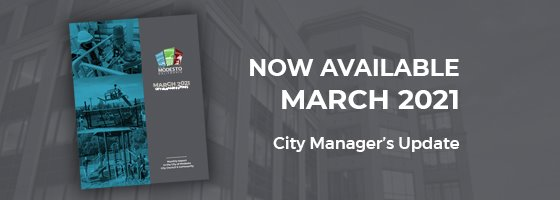 City Manager's Monthly Update Booklet Cover Page