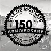 Modesto 150th anniversary instagram