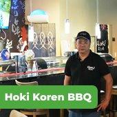 image of hoki koren bbq owner