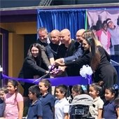 aspire school ribbon cutting