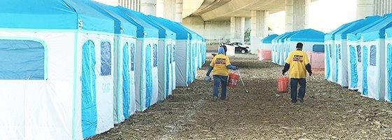 Modesto Outdoor Homeless Shelter image