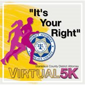 """image of """"its your right"""" virtual 5k logo"""