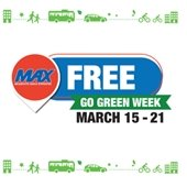 Go green week logo