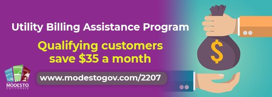 utility billing assistance program could save you $35 on your bill