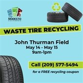 Waste Tire Recycling logo