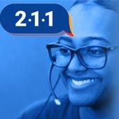 image of 211 call center representative
