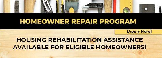 image of homeowner repair program logo