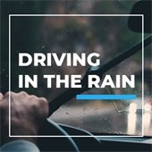image of someone driving in the rain