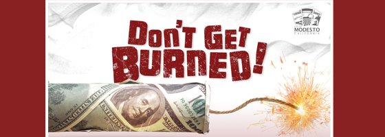 Don't get burned ad