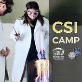 Image of girl in CSI camp