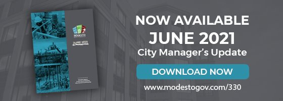 City Manager's Monthly Update Report Cover - Now Available June 2021