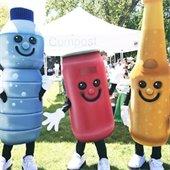 City Recycling Mascots