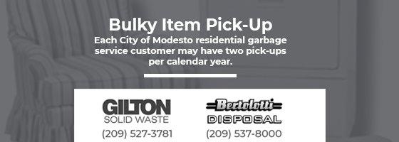 Bulk item pick up logos