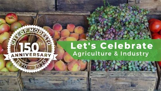 For the 150th Anniversary, let's celebrate May's theme, Agriculture and Industry