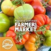 Modesto Certified Farmers Market Logo