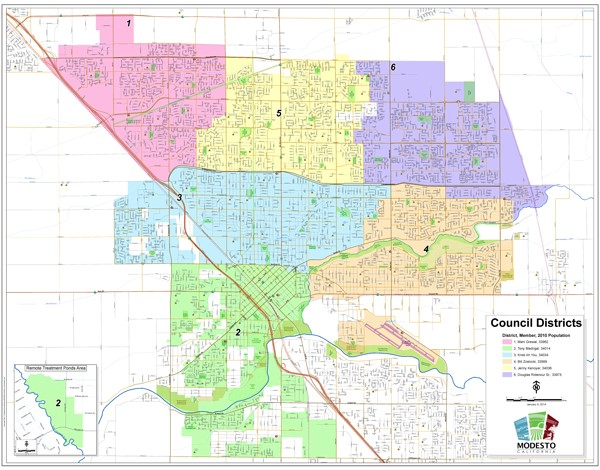 View the City Council Districts Map (PDF)
