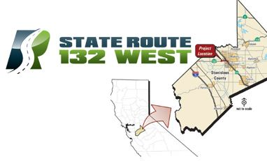 State Route 132 Project Logo