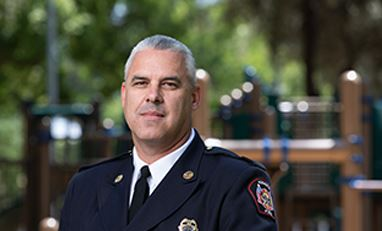 Fire Chief Alan Ernst