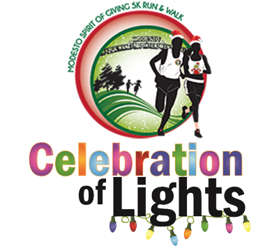 Spirit of Giving and Celebration of Lights logos