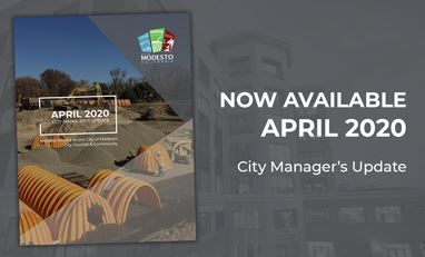 City Managers Monthly Report for April 2020