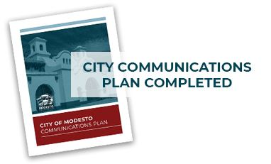 communications plan cover page