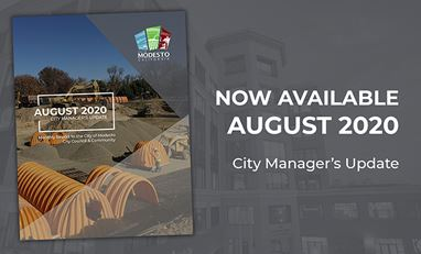 August City Manager's Report Cover Page