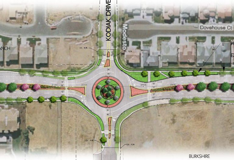 Roselle Widening Project - Floyd to Sylvan