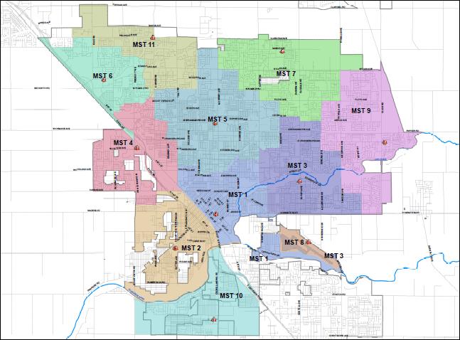 Map Of Modesto Ca Stations | Modesto, CA Map Of Modesto Ca