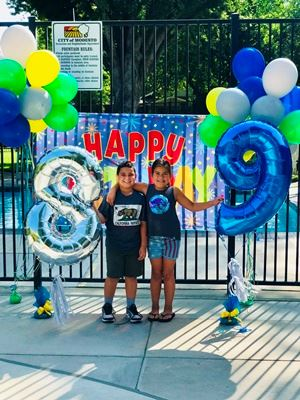 Kids Splash Party with Balloons!