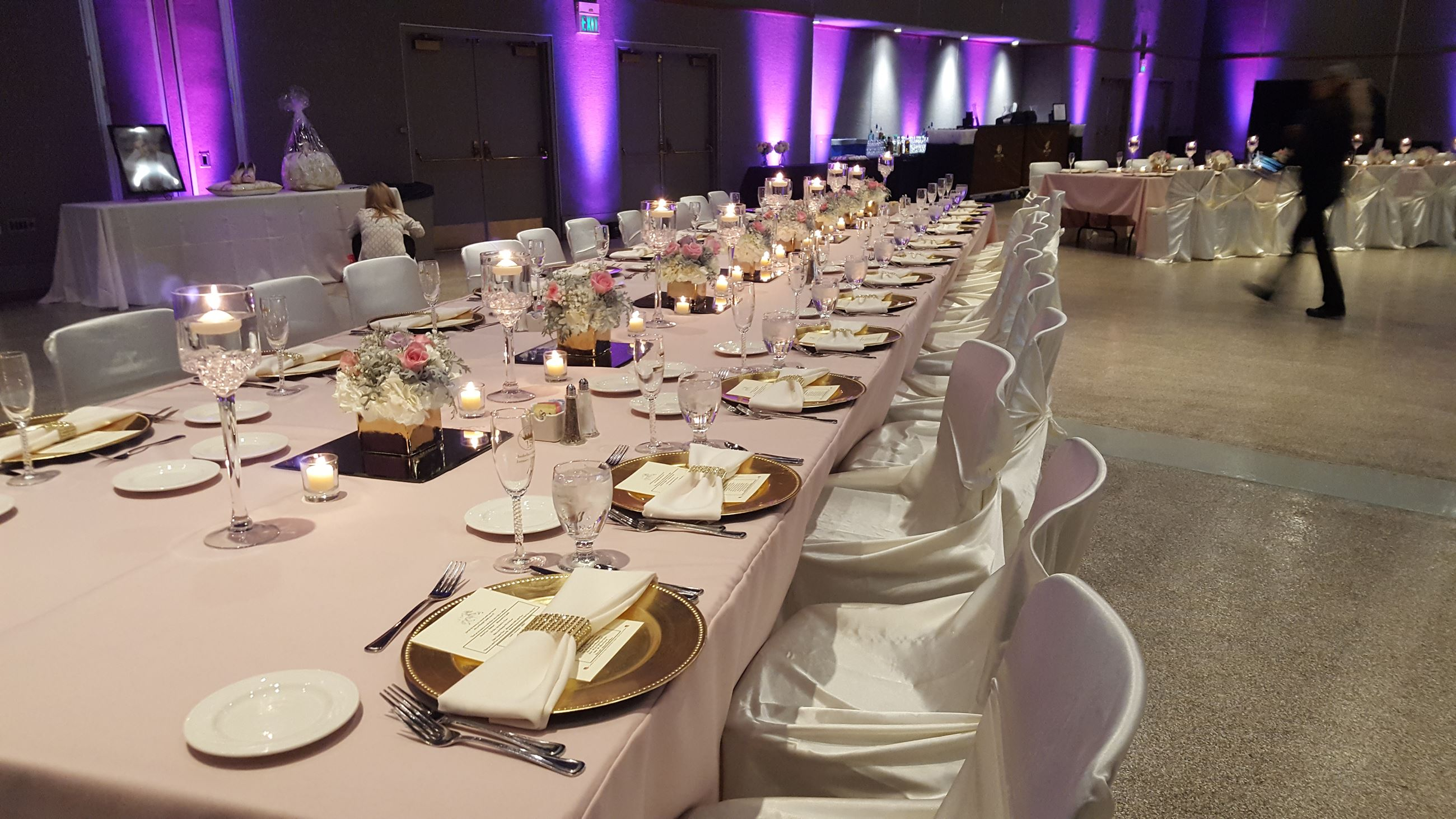Quinceanera Dinner Setting