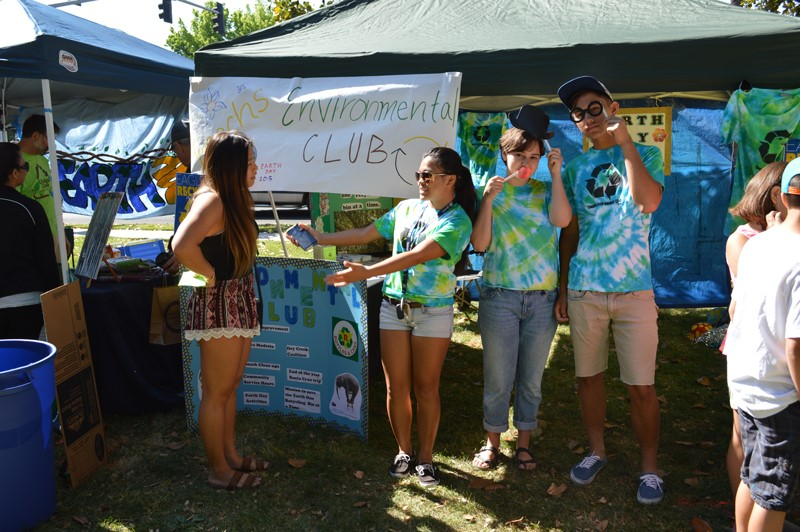 Environmental Club Booth
