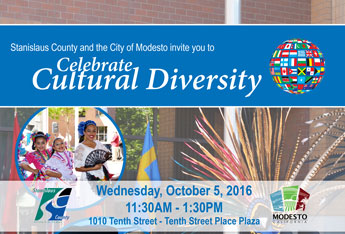 Celebrate Cultural Diversity October 5th
