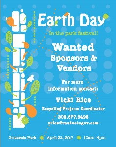 Earth Day Vendor Flyer